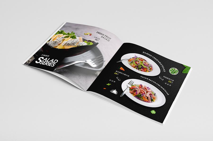 时尚餐饮画册设计产品展示04