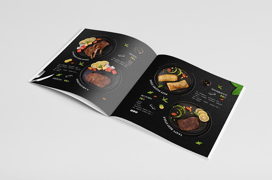 时尚餐饮画册设计产品展示05