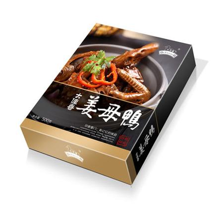 武汉飘飘食品集团姜母鸡品牌包装设计
