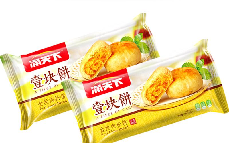 金丝肉松饼包装设计