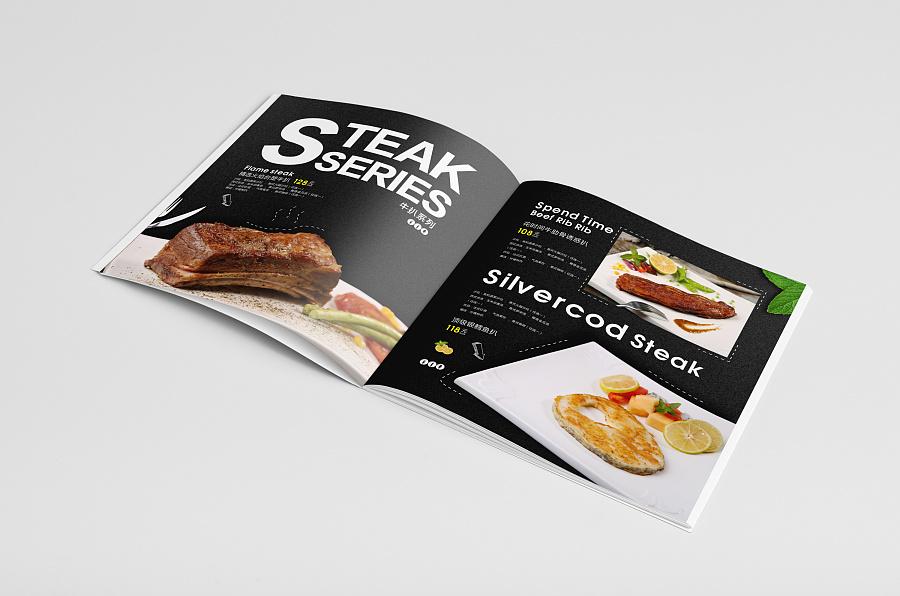 时尚餐饮画册设计产品展示09