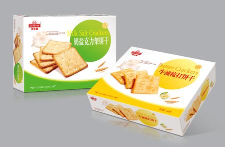 积士佳饼干包装设计