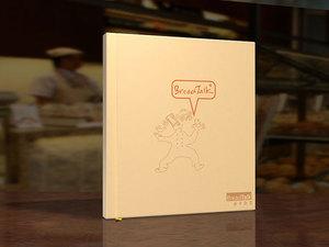 新加坡面包新语画册设计