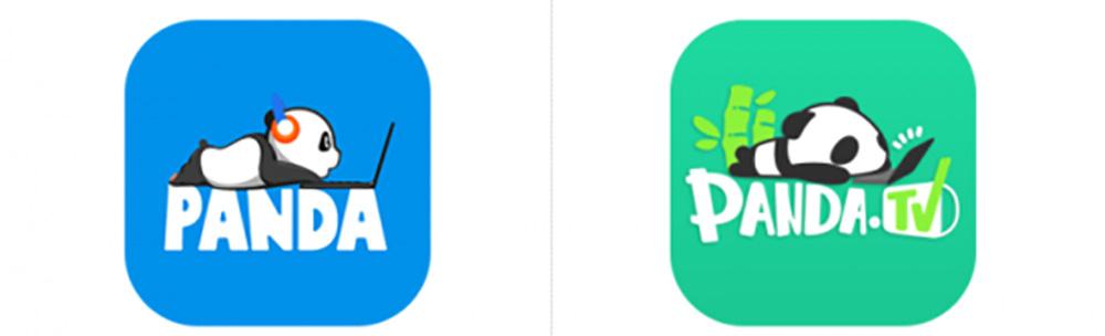 """王思聪创建的""""熊猫tv""""发布新logo设计图片"""