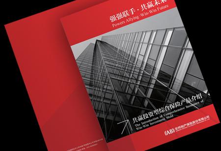 安邦保险画册设计