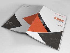 武汉光谷传媒集团智慧舆情产品画册设计