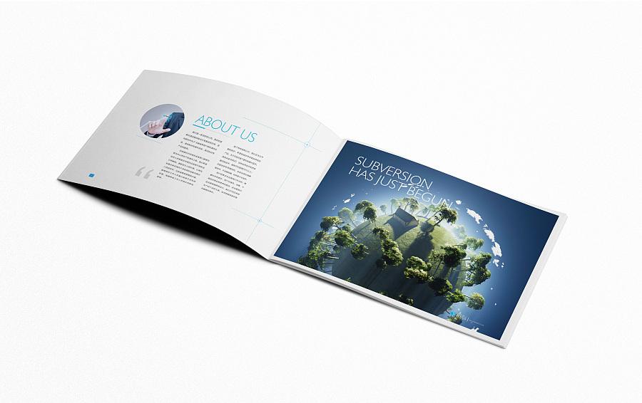 格微生物画册设计